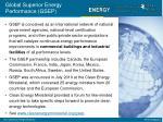 global superior energy performance gsep