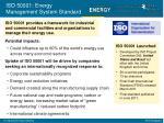 iso 50001 energy management system standard
