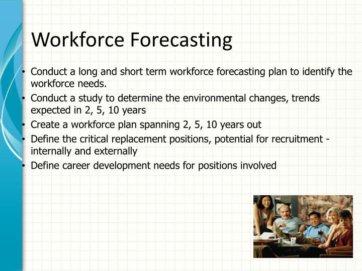 Workforce Forecasting