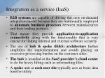integration as a service iaas