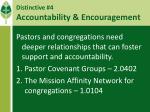 distinctive 4 accountability encouragement