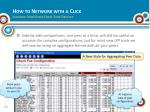 how to network with a click learning from peers from your desktop