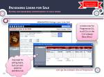 packaging loans for sale buying and brokering opportunities to each other