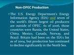 non opec production