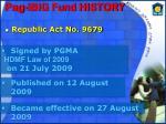 pag ibig fund history