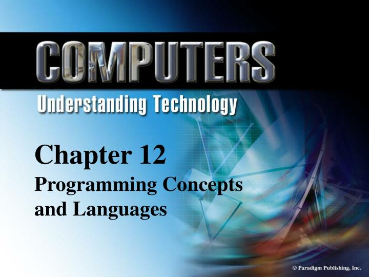 chapter 12 programming concepts and languages n.