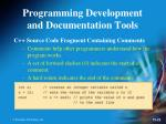 programming development and documentation tools5