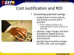 cost justification and roi2