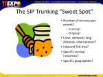 the sip trunking sweet spot1