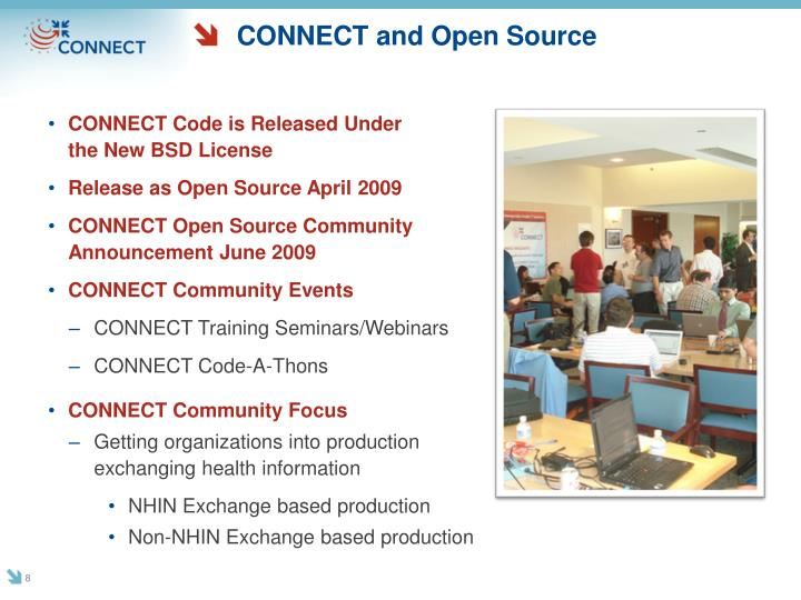 CONNECT and Open Source