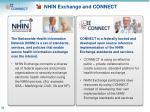 nhin exchange and connect