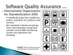 software quality assurance cont2