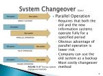 system changeover cont1