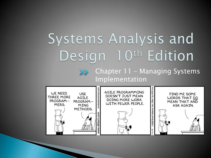 Ppt Systems Analysis And Design 10 Th Edition Powerpoint Presentation Id 1660490