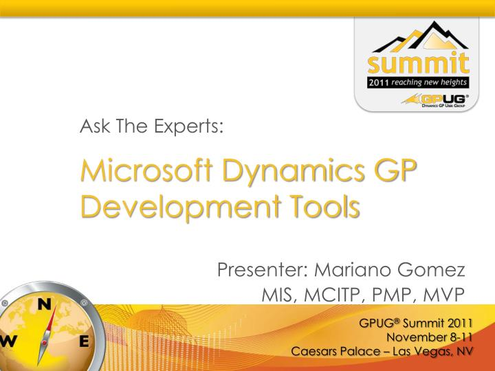 microsoft dynamics gp development tools n.