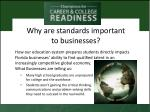 why are standards important to businesses