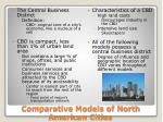 comparative models of north american cities