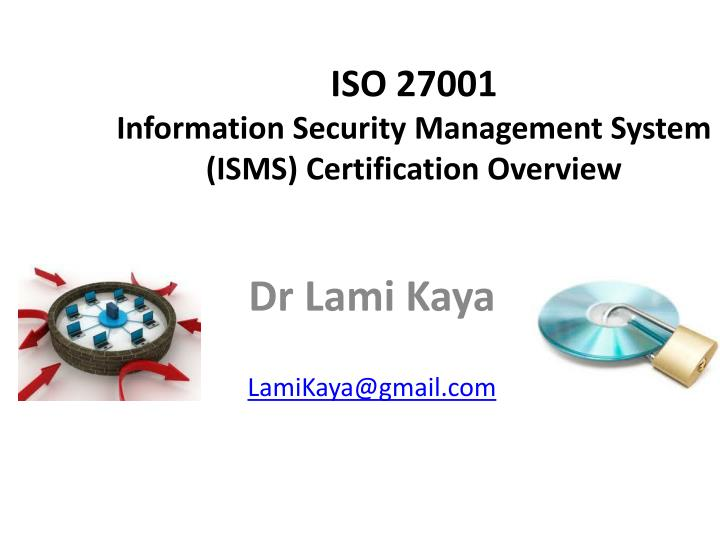 iso 27001 information security management system isms certification overview n.