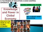 knowledge and power in global economy