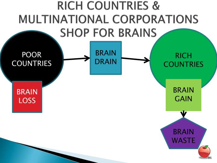 RICH COUNTRIES & MULTINATIONAL CORPORATIONS SHOP FOR BRAINS
