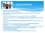 3 questions6