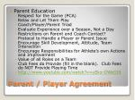parent player agreement3