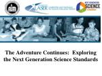 the adventure continues exploring the next generation science standards