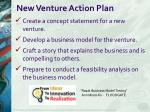 new venture action plan