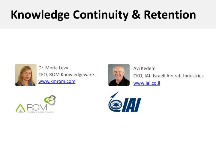 dr moria levy ceo rom knowledgeware www kmrom com n.