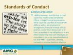 standards of conduct1