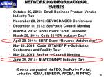 networking informational events