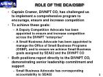 role of the dca osbp