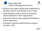 responsible care codes of management practices2