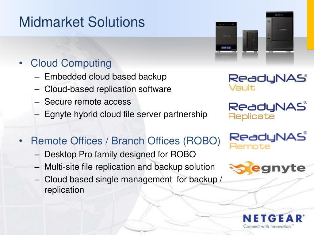 PPT - NETGEAR FSR/CAM Training Network Storage PowerPoint