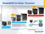 readynas for home prosumer