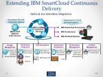 extending ibm smartcloud continuous delivery