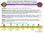 joint training information management system jtims joint master scenario event list jmsel