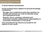 ii social networks and business21
