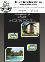 full property package 77 950 seminole county altamonte springs 637 buoy ln 101 landing a condo