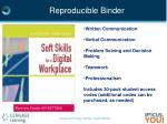 reproducible binder