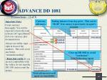advance dd 10811