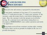 cash handling procedures