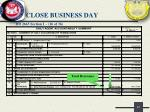 close business day21