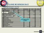close business day24