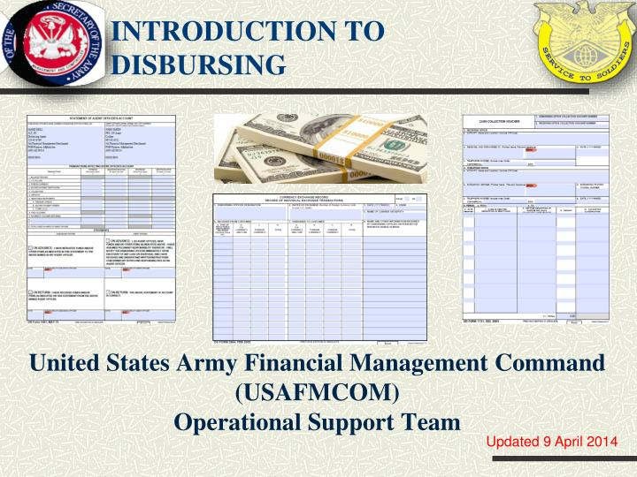 introduction to disbursing n.