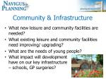 community infrastructure
