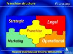 franchise structure4