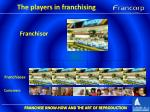 the players in franchising2