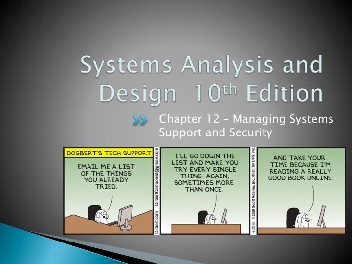 systems analysis and design 10 th edition n.