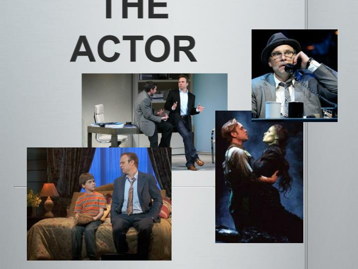 the actor n.